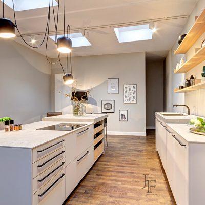 Luxus Küchen-Website, Intranet und Produkt Fotografie